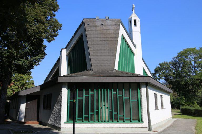 Außenansicht Kirche Maria Rast