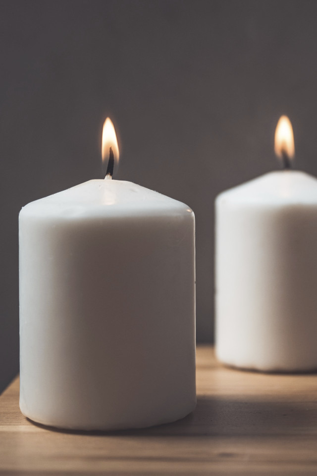 Kerzen brennen