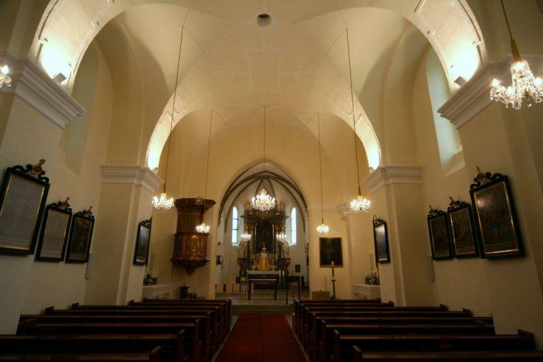 Innenansicht Kirche Paasdorf