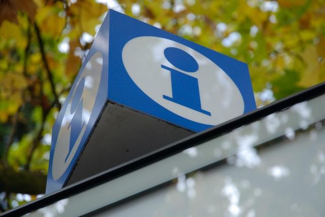 Symbol eines Infobüros