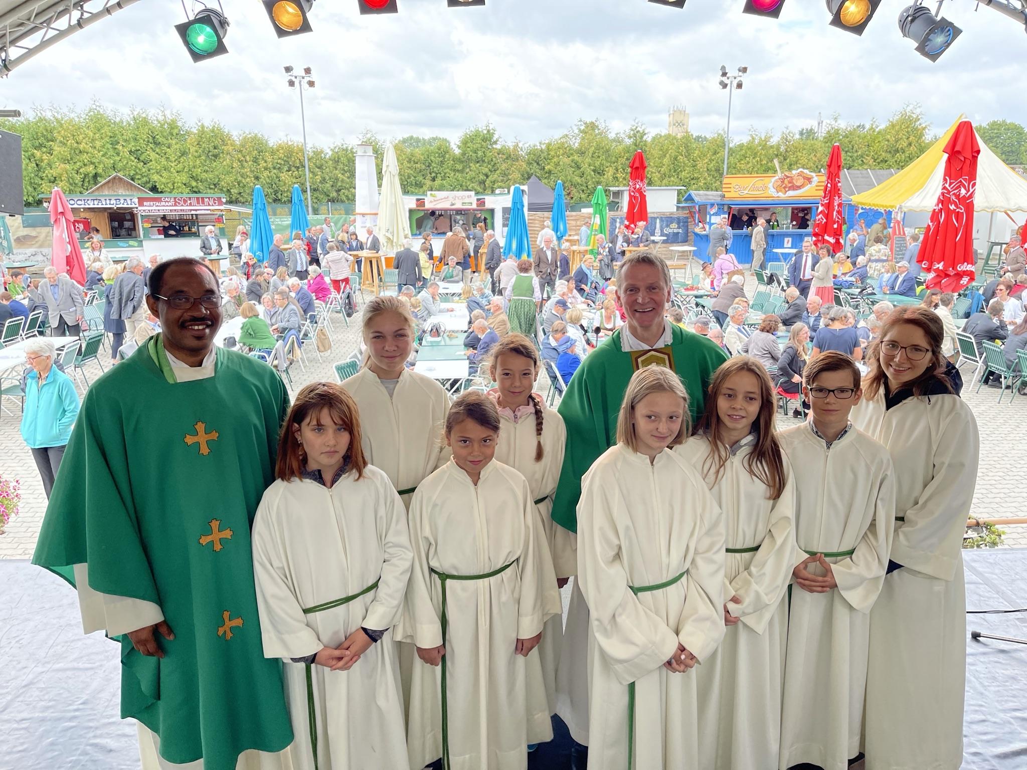 Begrüßungsworte Pfarrer Johannes Cornaro